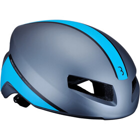 BBB Tithon BHE-08 Casque, matt gray/blue